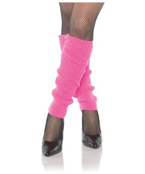 80s Pink Leg Warmers Accessory