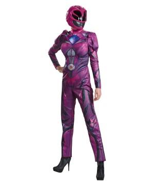 Pink Power Ranger Women Costume