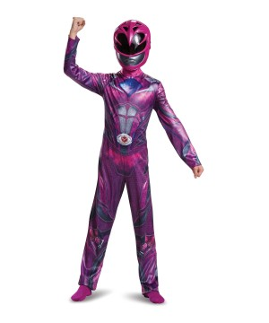 Power Rangers Movie Pink Ranger Girls Costume