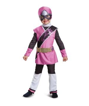 Pink Power Ranger deluxe Toddler Girls Costume