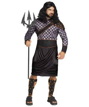 Poseidon Men Costume