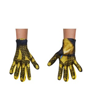 Power Rangers Movie Yellow Kids Costume Gloves