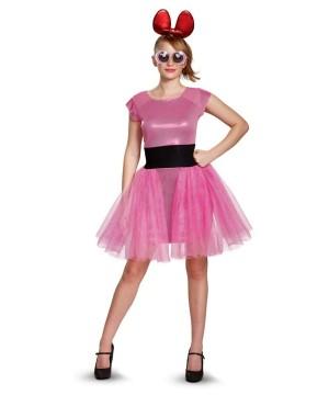 Powerpuff Girls Blossom Womens Costume