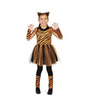Prowling Tigress Girls Costume