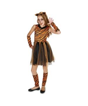 Prowling Tigress Teen Girls Costume