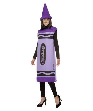 Crayola Crayon Violet Women Costume