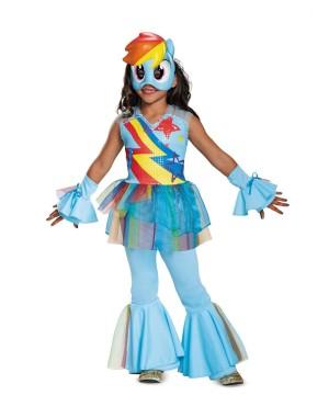 Rainbow Dash Girls Costume