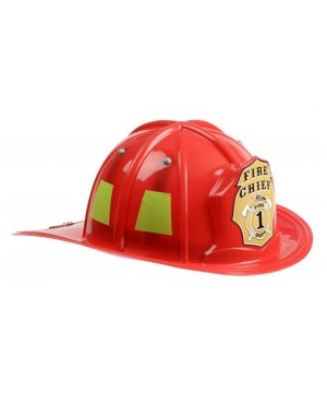 Red Firefighter Boys Helmet