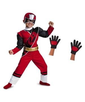 Pink Power Ranger Girls Costume Gloves