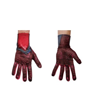 Power Ranger Red Men Costume Gloves
