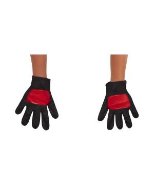 Power Rangers Red Toddler Gloves