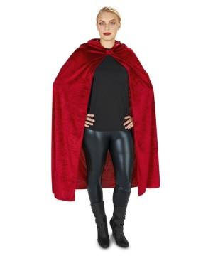 Red Velvet Riding Hood Cape