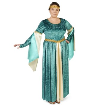 Renaissance Lady Elegant Velvet plus Costume