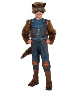 Guardians of the Galaxy Volume 2 Rocket Raccoon Boys Costume