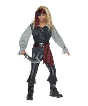 Sea Pirate Boys Costume