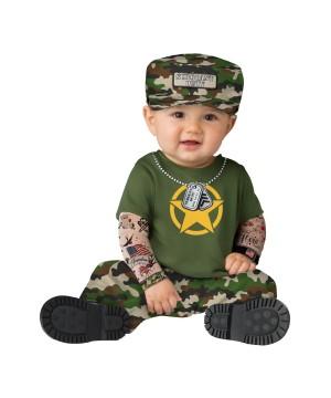 Sergeant Baby Costume