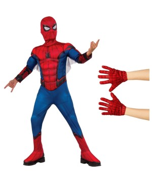 Spiderman Homecoming Boys Costume Kit