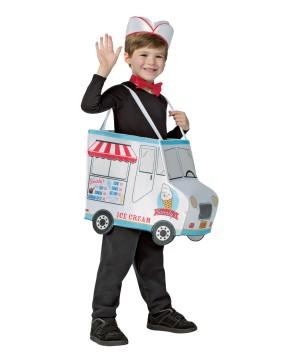 Swirlys Ice Cream Truck Boys Costume