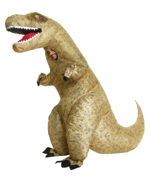 T-rex Inflatable Mens Costume