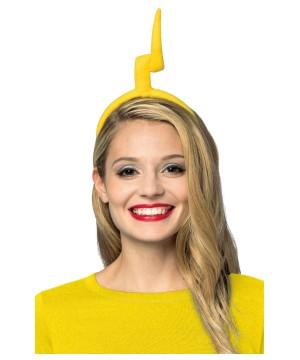 teletubbies Lala Yellow Lightning Antenna Womens Headband