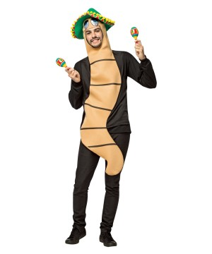 Mens Tequila Worm Costume