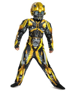 Transformers Bumblebee Boys Costume deluxe