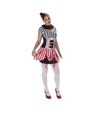 Traveling Circus Carnival Womens Costume