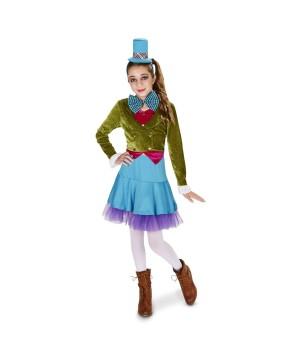 Tween Girls Mad Hatter Costume