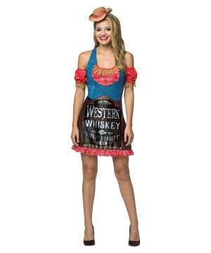 Womens Whiskey Dress Costume