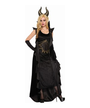 Black Dragon Women Costume