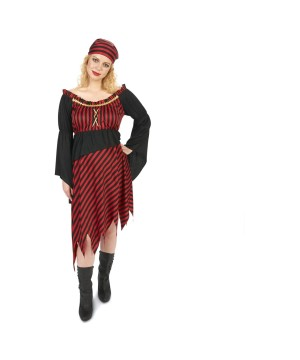 Womens Maternity Pirate Costume