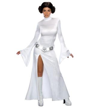 Womens Sexy Princess Leia Star Wars Costume