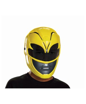 Power Rangers Movie Yellow Girls Mask