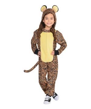 Zipster Leopard Girl Costume