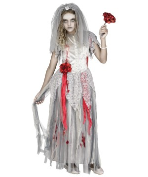 Zombie Bride Girl Costume