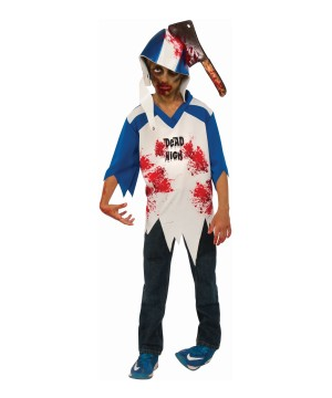 Zombie Football Player Boys Costume