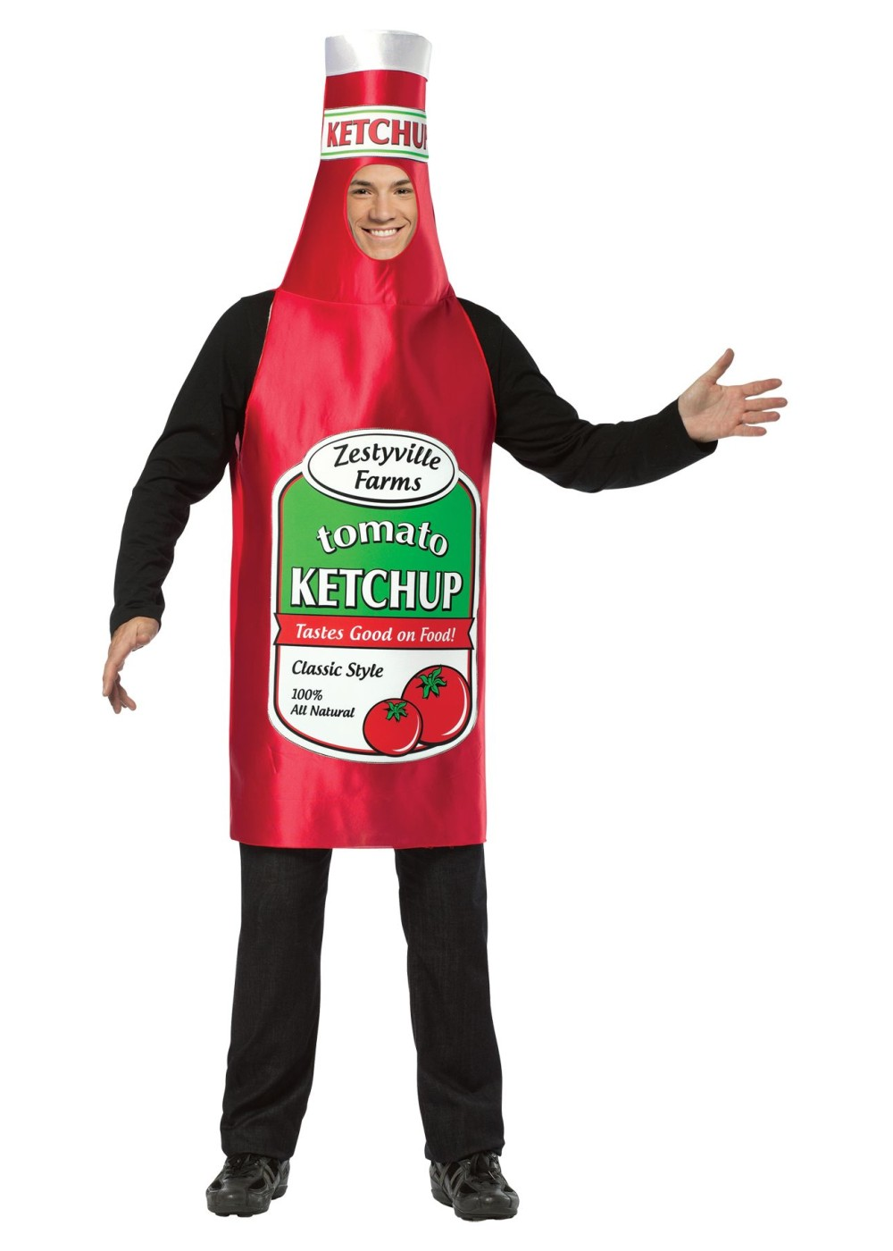 Zestyville Farms Ketchup Costume Food Costumes