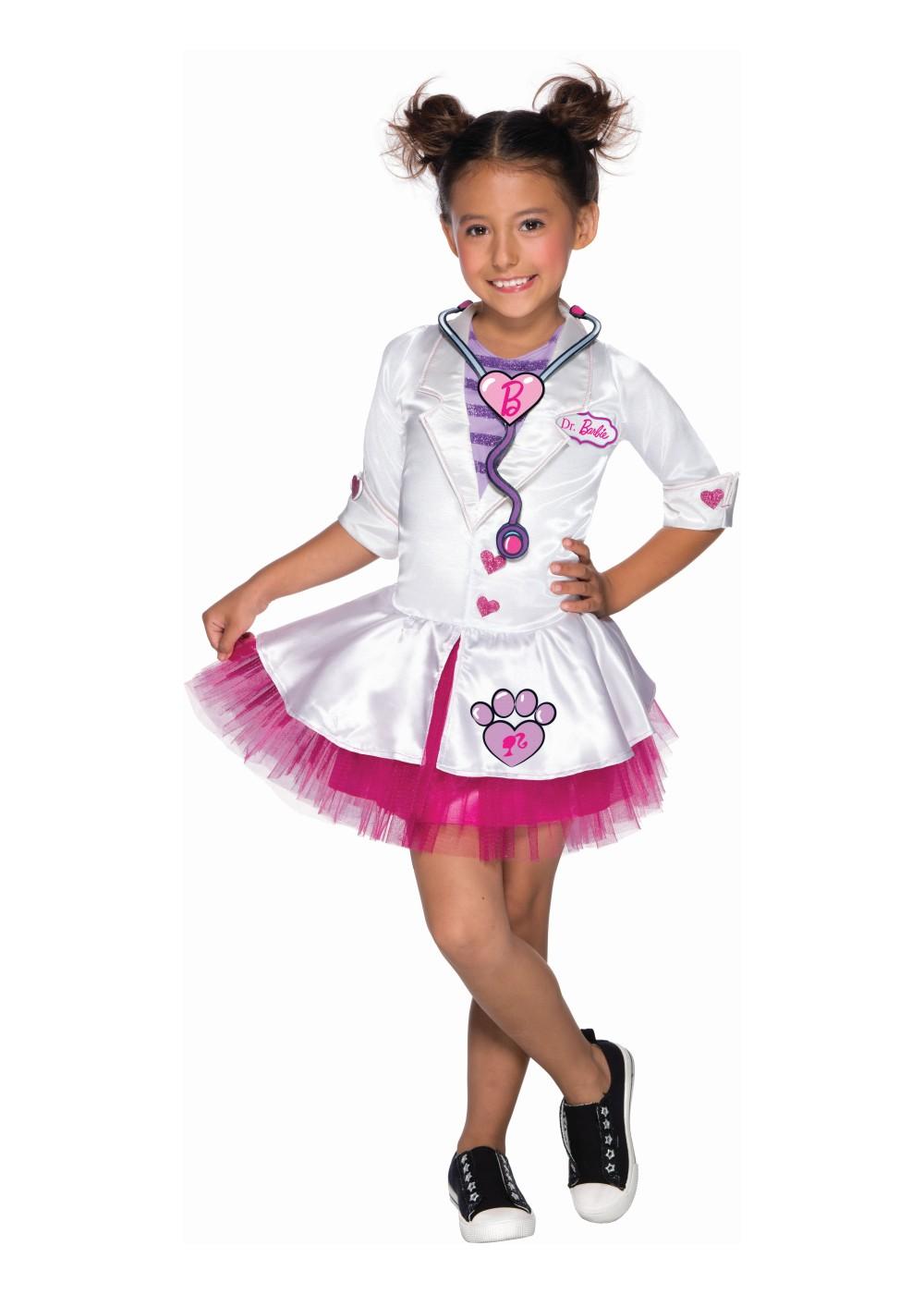 barbie vet girls costume