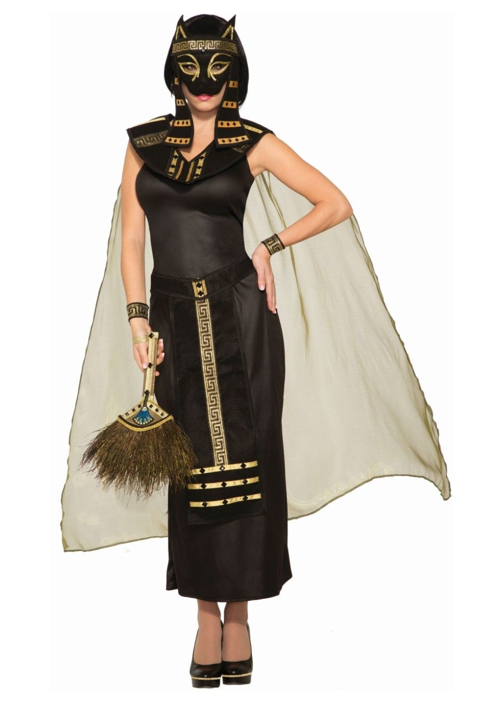 Bastet Women Costume and Mask Set