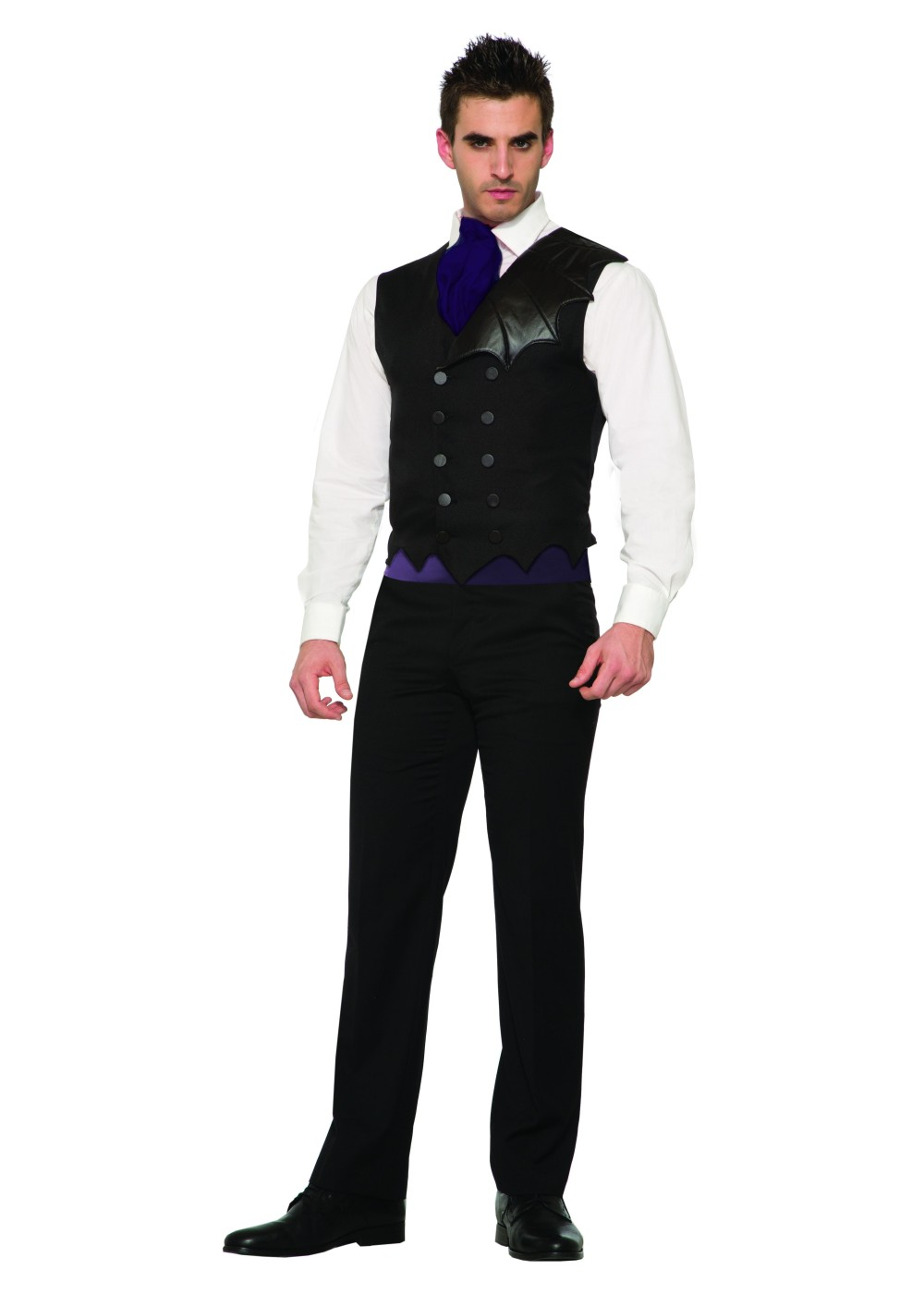 Bat Costume Men Vest - Holiday Costumes - New for 2017