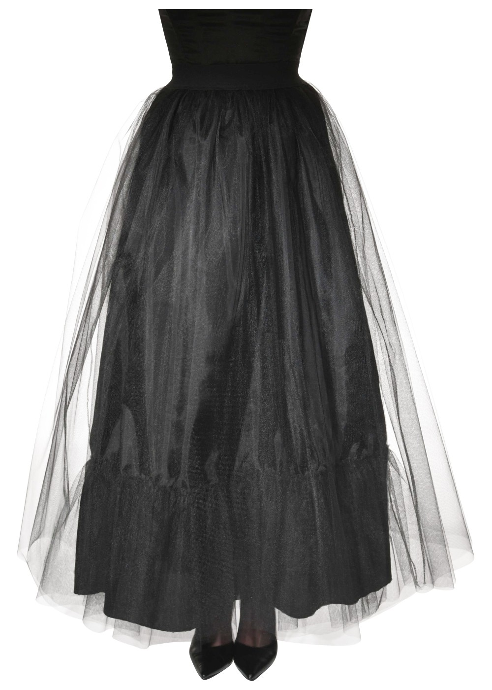 Black Witch Women Skirt - Witch Costumes