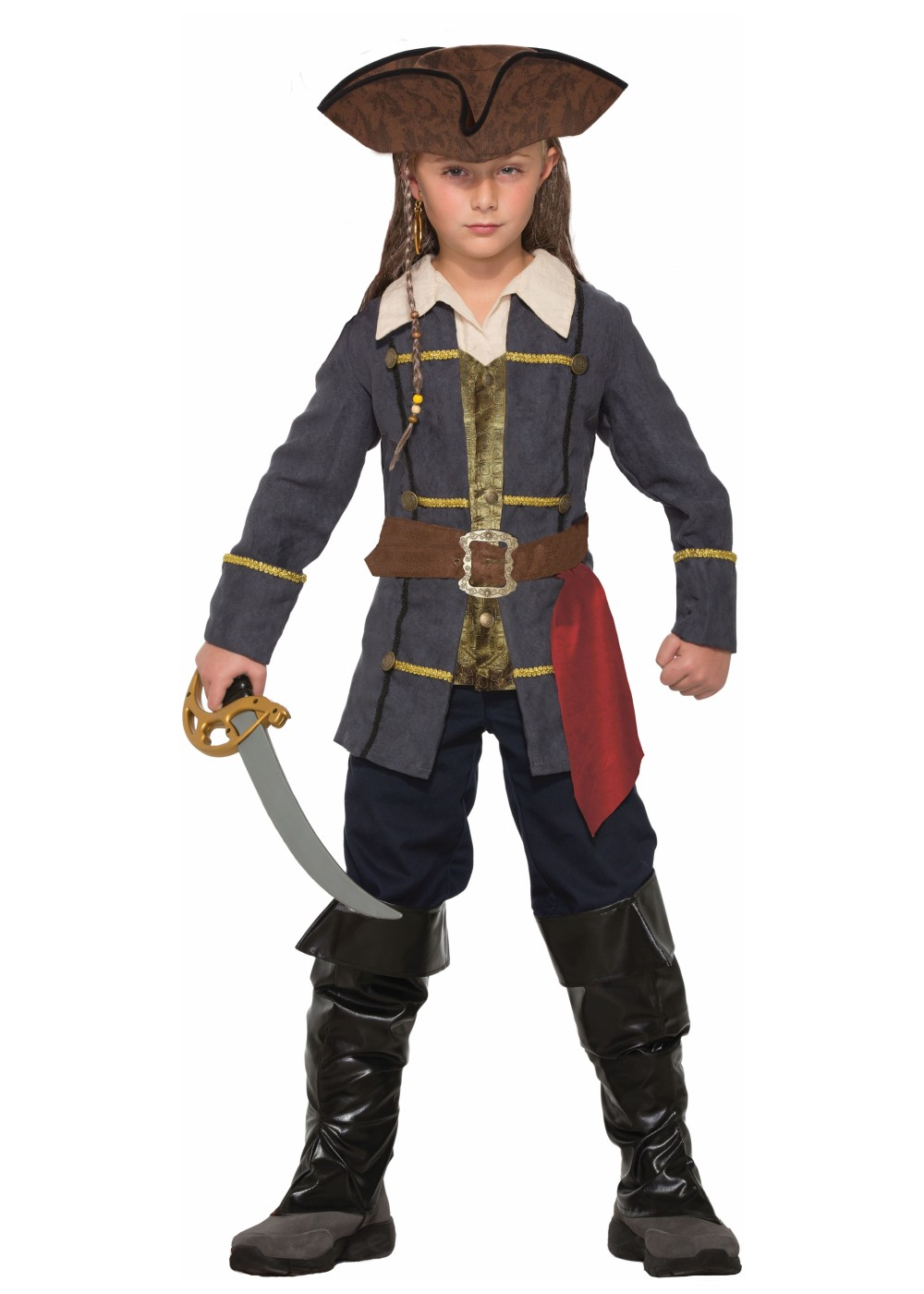 Pirate Captain Boys Costume - Pirate Costumes - New for 2017