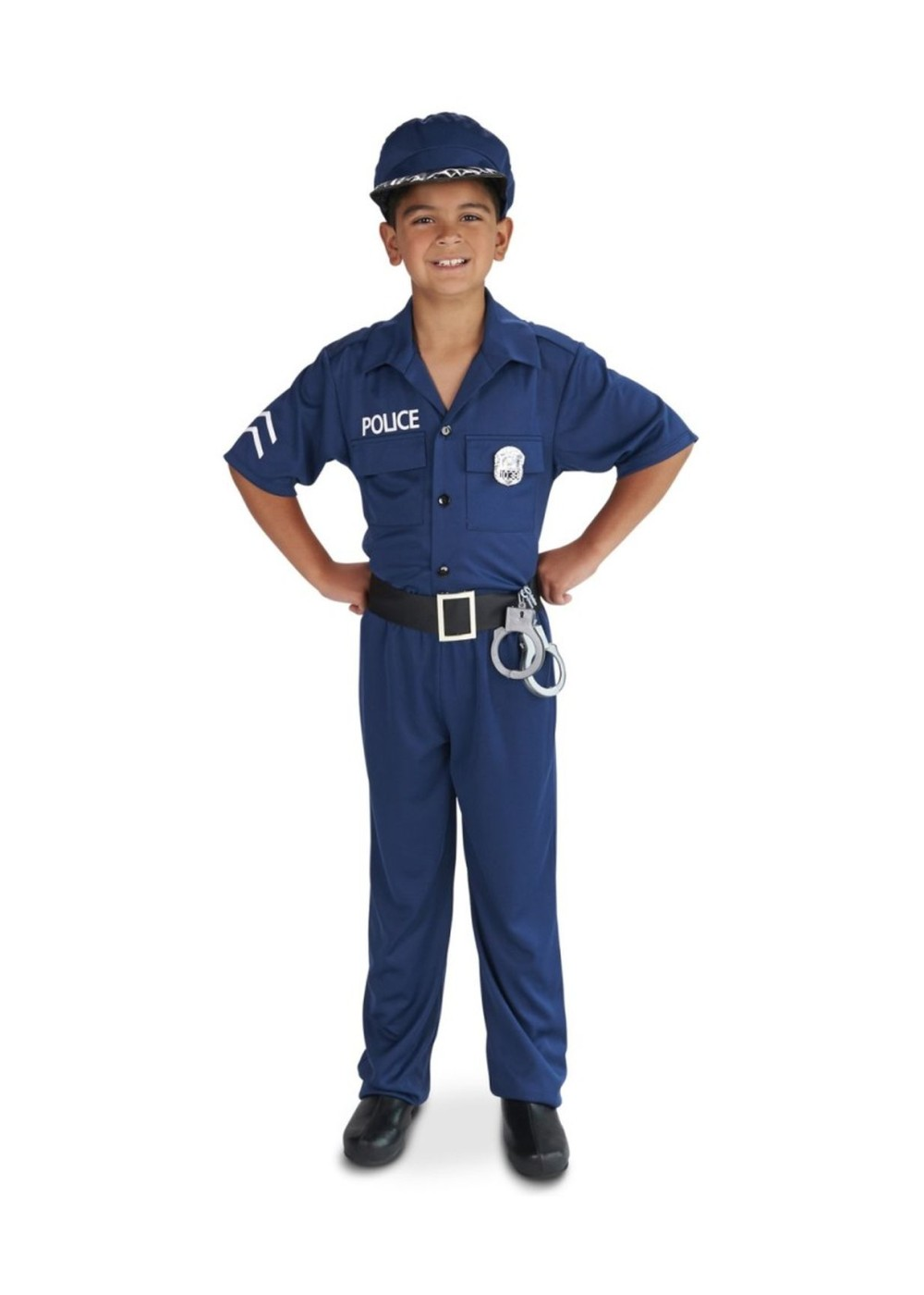 Boys police officer costume professional costumes - Police officer child costume ...