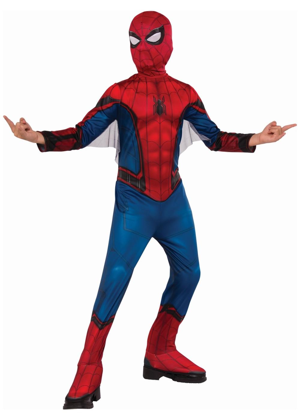 Spiderman Homecoming Boys Costume Superhero Costumes