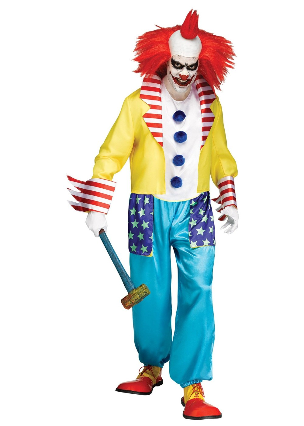 Clown Men Costume Costumes