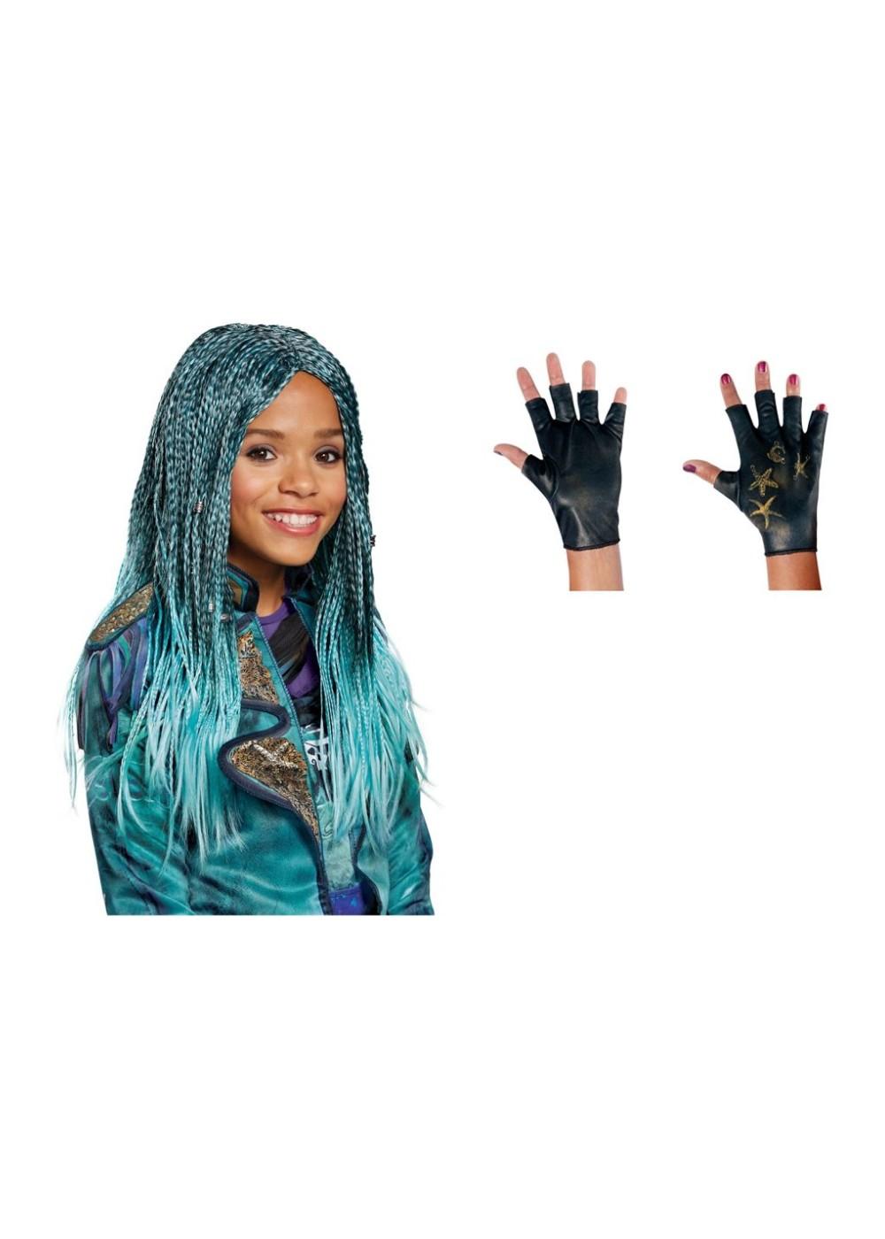 Descendants Uma Girls Costume Accessory Set Disney Costumes