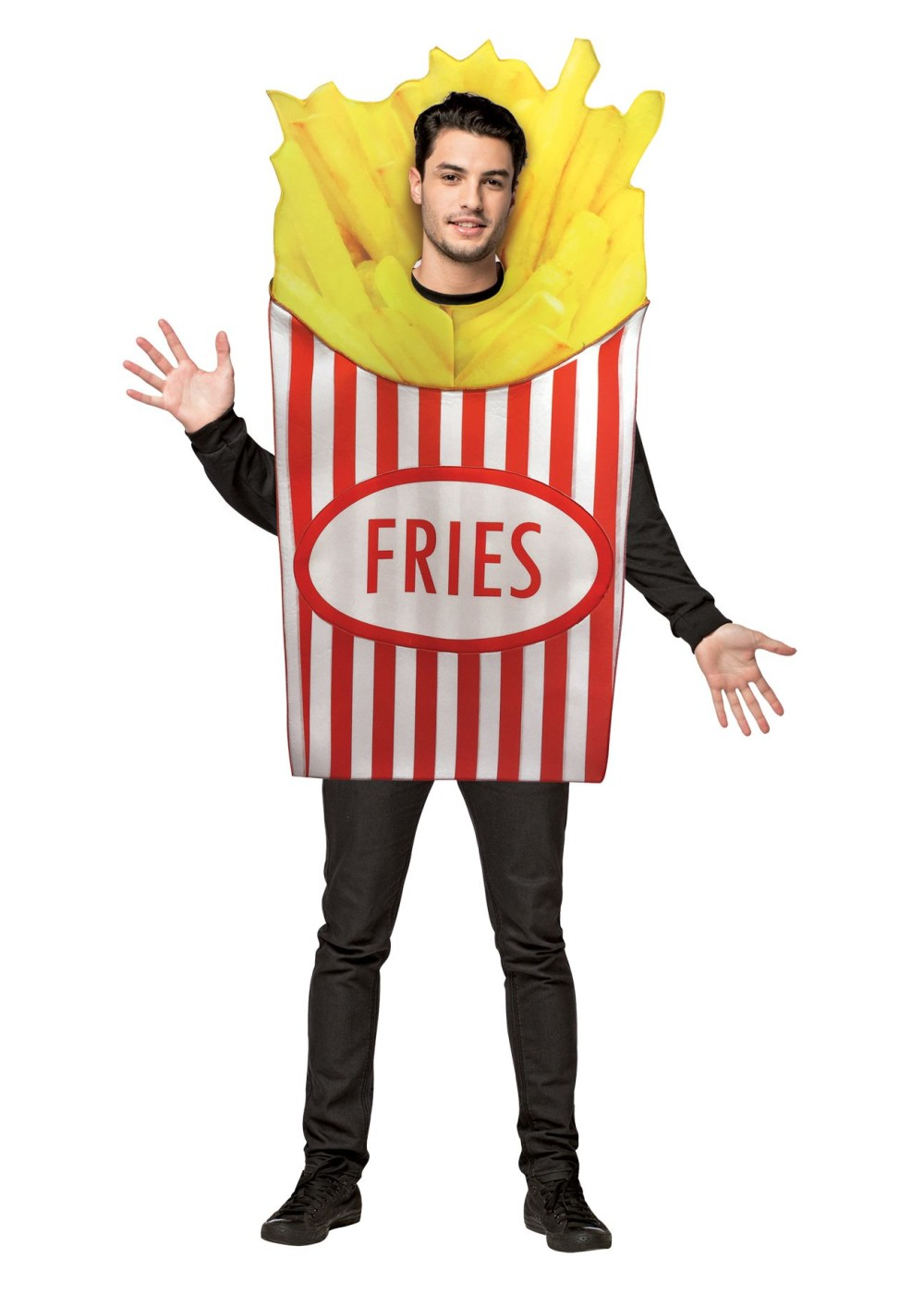 French Fries Mens Costume - Food Costumes