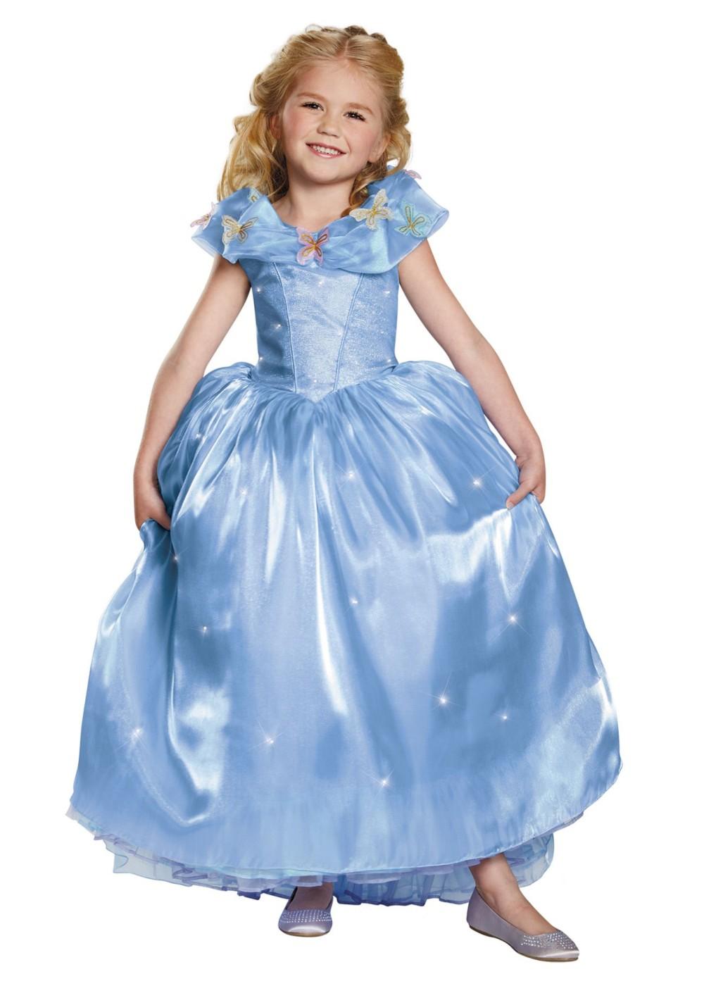 Girls Cinderella Dress - Princess Costumes