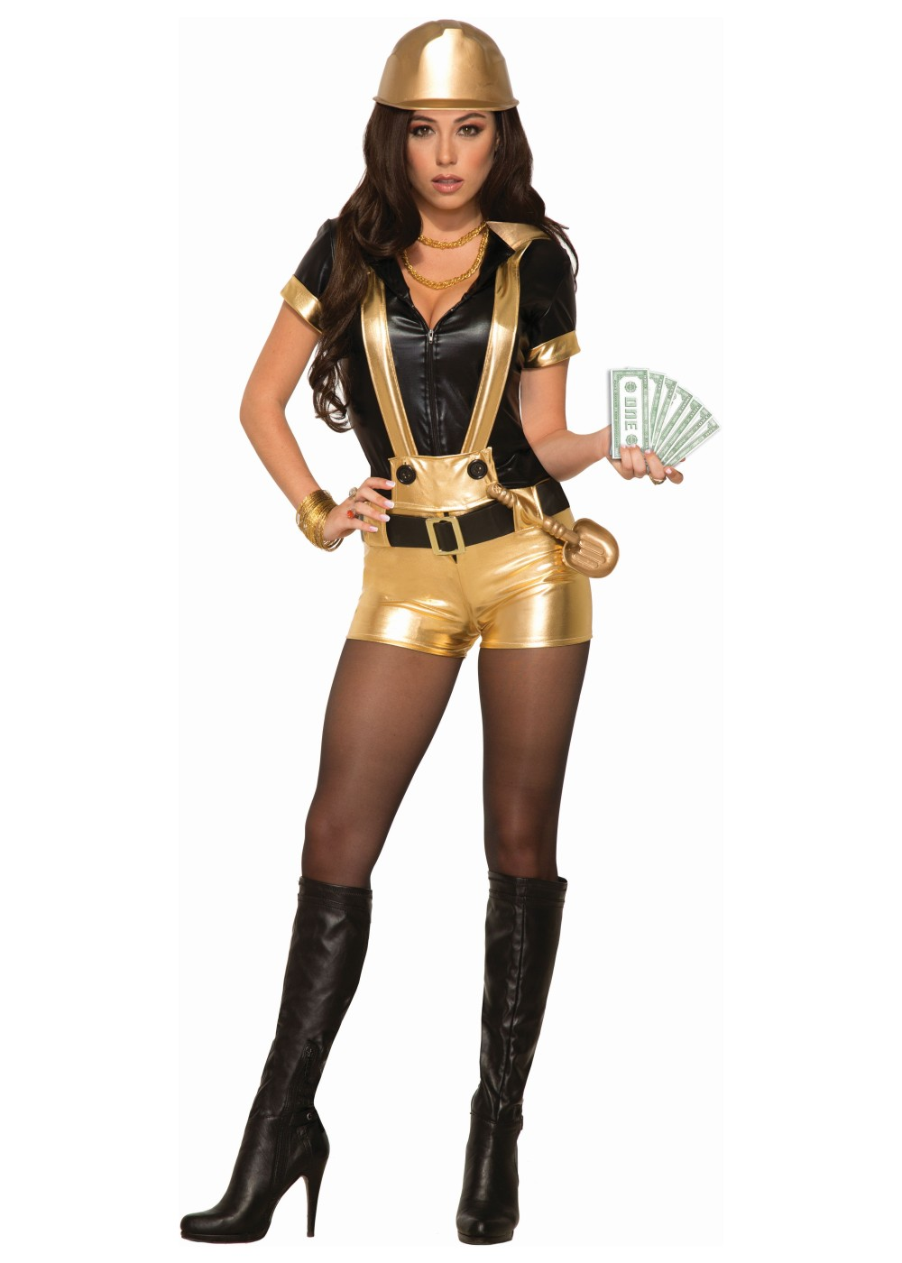 Halloween costumes gold digger Adult