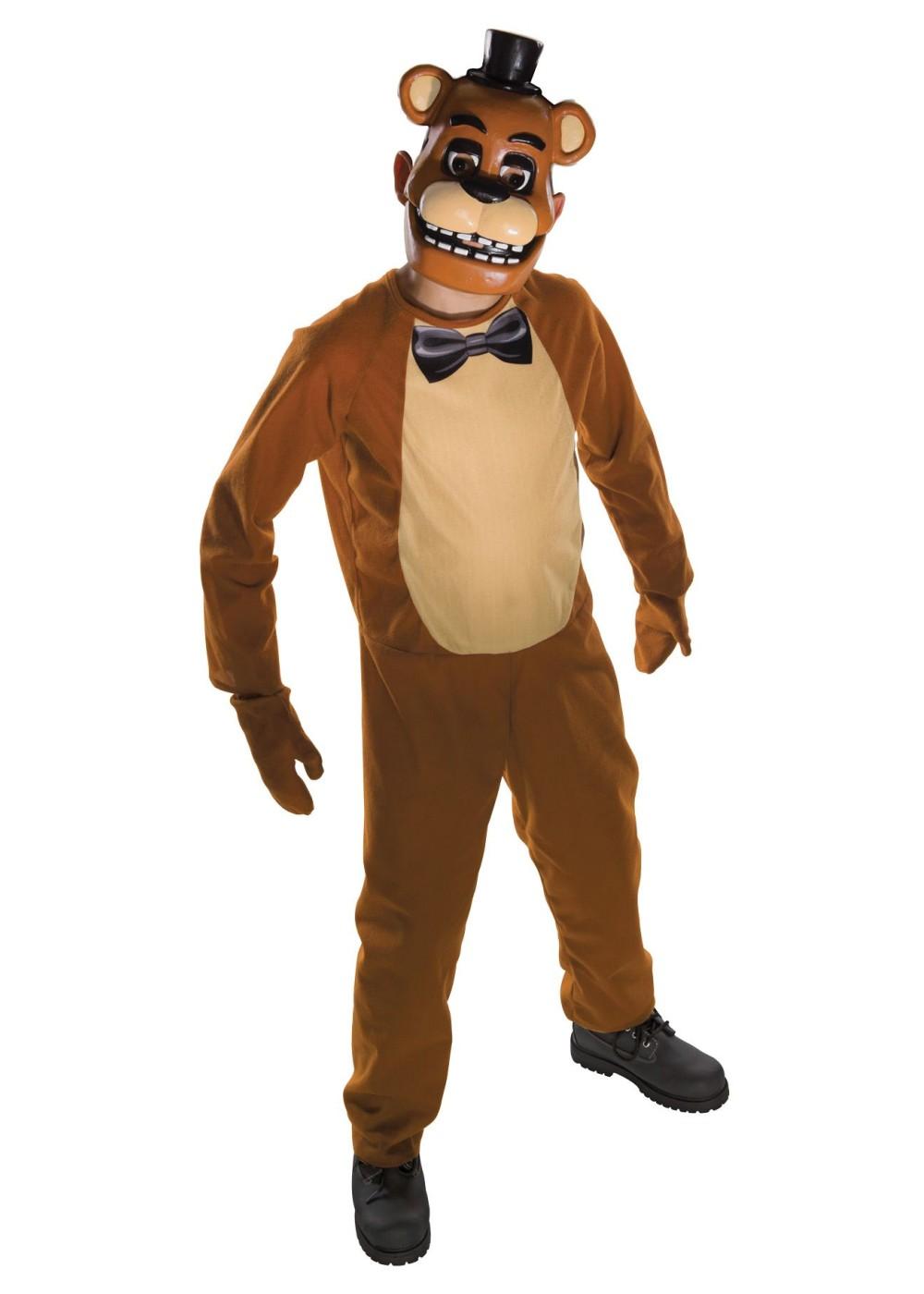 Kids Freddy Fazbear Costume Video Game Costumes